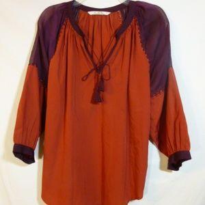 Vanilla Star Multi-color  Pullover blouse